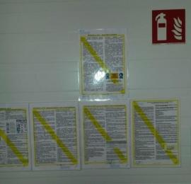 stworzenie i rozlokowanie instrukcji BHP