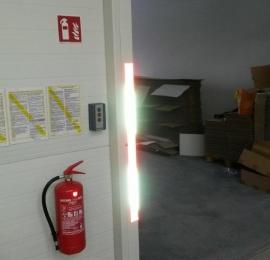 zapewnienie gaśnic, wieszaków i znaków PPOŻ